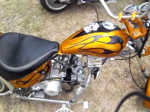 test ride  mini chopper resurrection  doovi