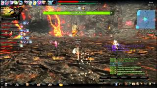 Vindictus Gameplay (Lvl 80 Fiona) - EPIC Lavasat Boss Raid