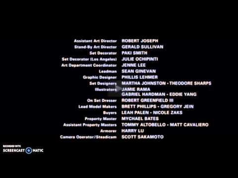 The Dark Knight Rises (2012) Credits