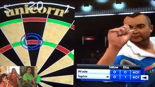 Let's Play - PDC World Championship Darts Pro Tour (Wii) DEUTSCH + Echtes Dartmatch