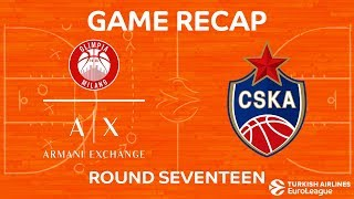 Highlights: AX Armani Exchange Olimpia Milan - CSKA Moscow