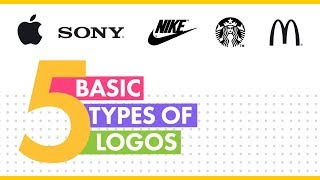 5 Types Of Logos | Logo Design Process & Techniques