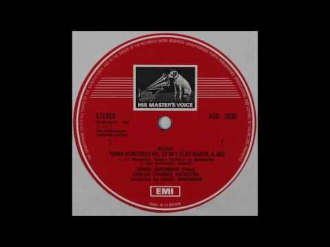 Mozart, Piano Concerto No 22, Barenboim