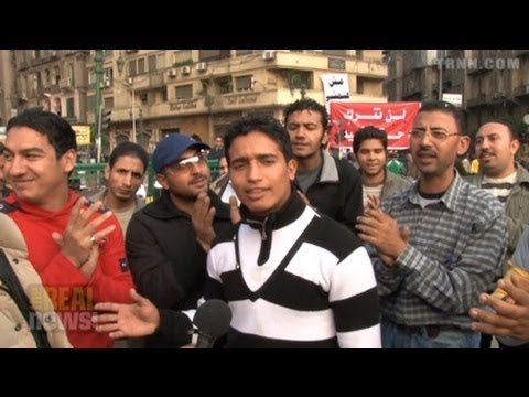 Egypt's Revolutionary Artists' Union Sing Out