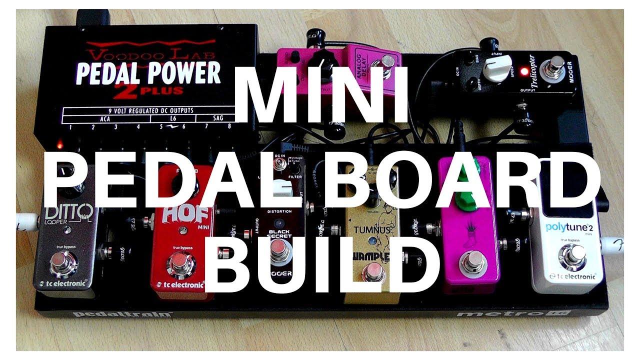 building a mini guitar pedal board youtube. Black Bedroom Furniture Sets. Home Design Ideas