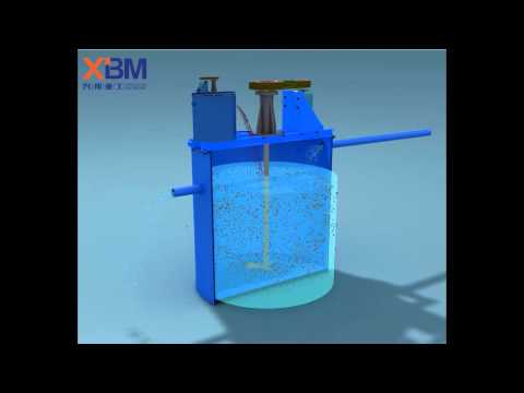 Mixing bucket, Flotation machine, Agitation vat