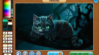 Animal jam masterpiece speedpaint - Cheshire cat