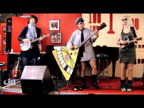 Katzenjammer - Demon Kitty Rag + I Will Dance - Acoustic @ Gin In Teacups