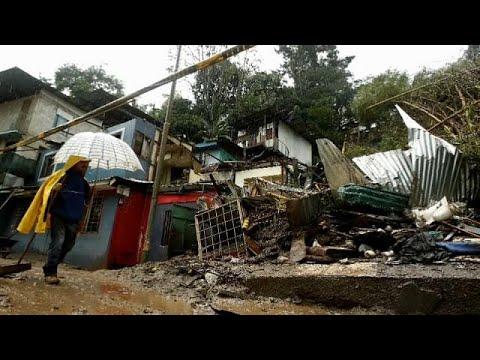 'Nate' Fırtınası Orta Amerika ülkelerinde 22 can aldı