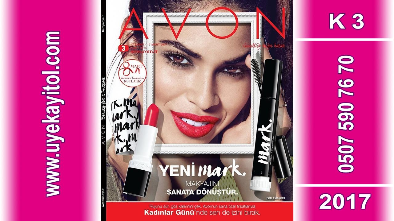 Avon K3  Katalog 2017- Full HD - Avon Şubat - Mart Katalog 2017