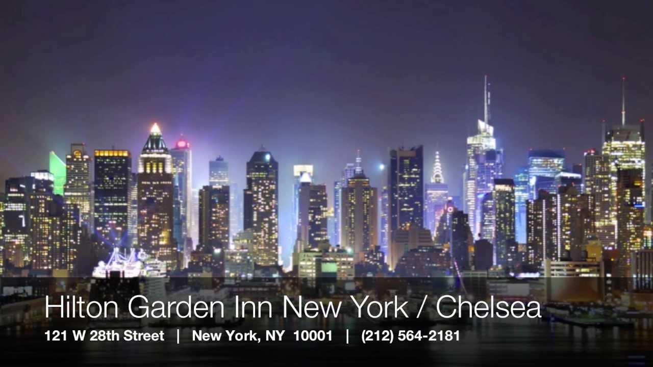 Hilton Garden Inn New York Chelsea Madison Square Gardens Youtube