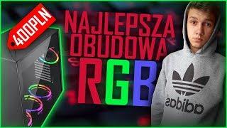 ★Sharkoon PURE STEEL★ Najlepsza obudowa RGB do komputera do 400zł!  ✔Przekładanie Podzespołów ✔
