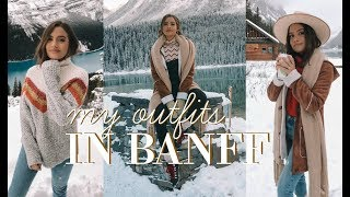 WHAT TO WEAR IN THE WINTER | My Banff Outfits