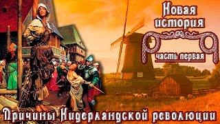 Причины Нидерландской революции (рус.) Новая история.