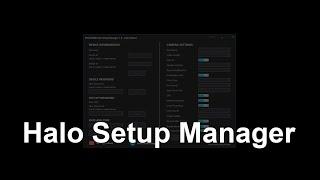 WOLFCOM Cloud Tutorial Video - Halo Setup Manager
