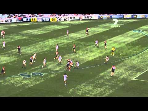 James Frawley Goal Against Fremantle  Round 13, 2011