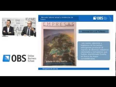 Webinar OBS: Mercado laboral actual y tendencias del mercado futuro