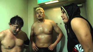 ダイジェスト:カズ・ハヤシ&近藤修司 vs 河野真幸&TAJIRI(2014.11.15.@博多スターレーン)