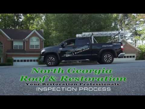 North Georgia Roof and Restoration Inspection Process