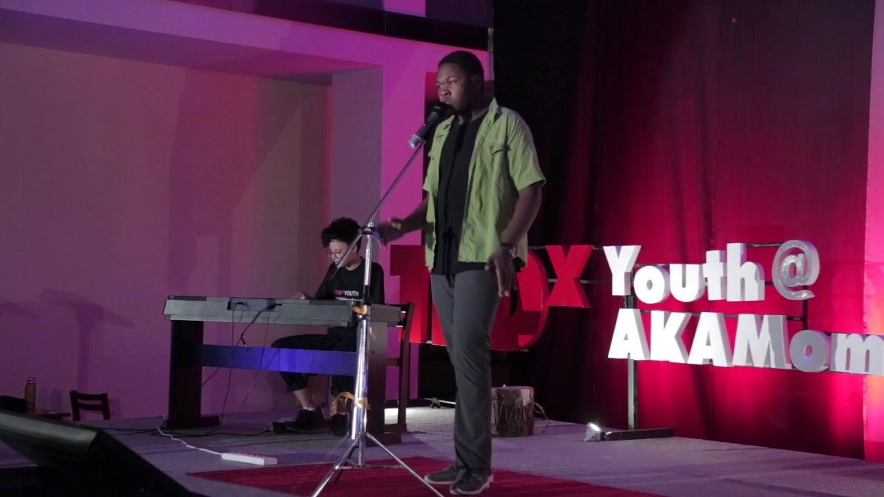 Cover of 'Rise' by Katy Perry | Mathias Oundo | TEDxYouth@AKAMombasa