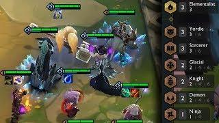 7 Synergies Comp!   Teamfight Tactics Gameplay [Deutsch]