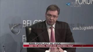 Rama përplaset me Vuçiç - News, Lajme - Vizion Plus