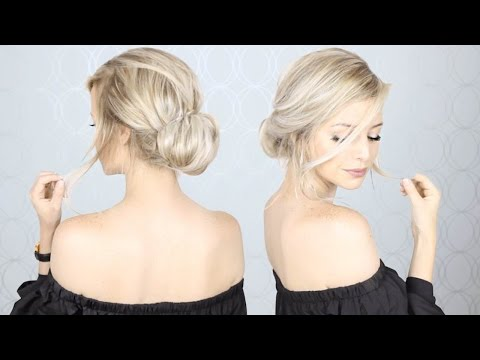 Super Simple Updo: Perfect for Long, Medium, AND Short hair