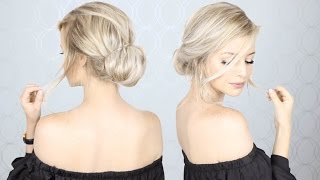 Super Simple Updo | Perfect for Long, Medium, AND Short hair