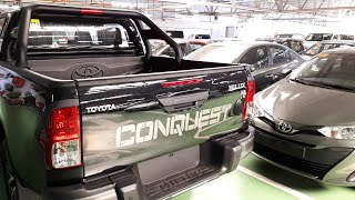 2019 Toyota Hilux Conquest 4x4 Manual | Walk Around | Black