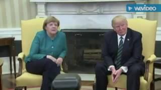 Donald Trump Refused To Shake Angela Merkels Hand