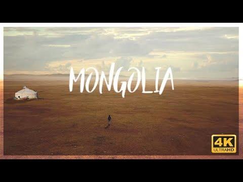 4K Endless Landscape Mongolia