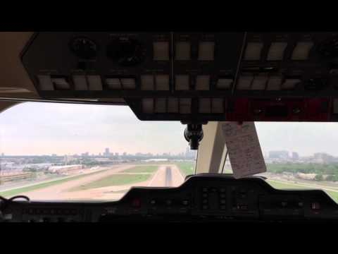 Hawker 800XP - In-Cockpit View - Take-Off from Dallas Love Field (KDAL)