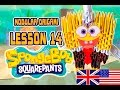 MODULAR ORIGAMI  LESSON №14  Sponge Bob Square Pants