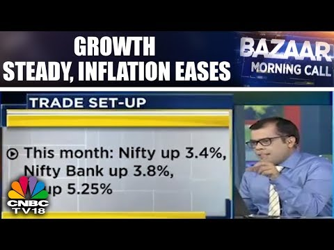 Growth Steady, Inflation Eases | Bazaar Morning Call (Part 1) | CNBC TV18