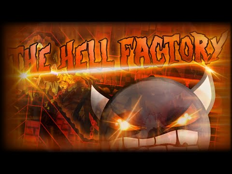 Geometry Dash | EXTREME DEMON! | The Hell Factory by TeamN2 {Live}