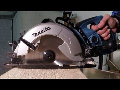 Обзор дисковой пилы Makita 5704RK - YouTube