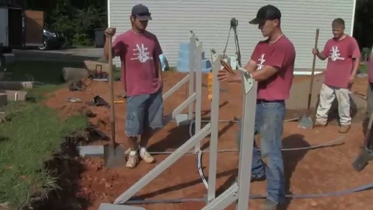 Oval Above Ground Pool Professional, How To Install An Above Ground Oval Pool