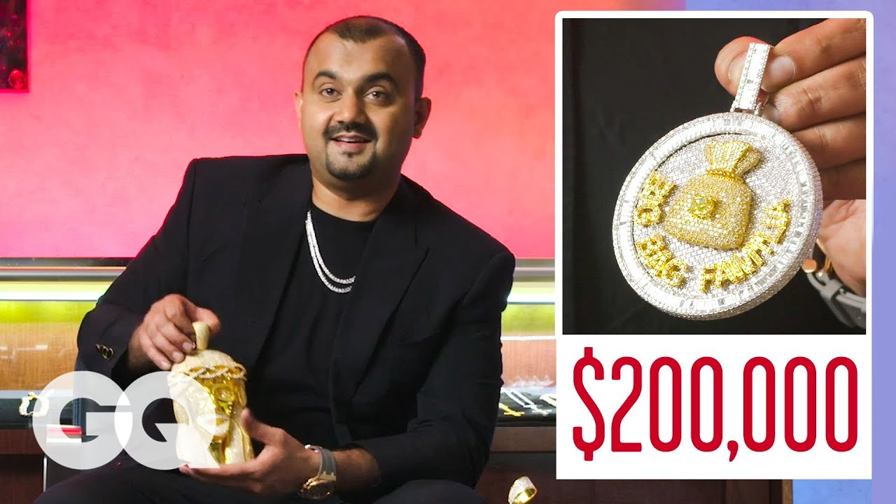 Expert Jeweler Iceman Nick Shows Off His Insane Jewelry Inventory
