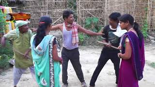 पड़ोसिया क बकरी खातिर महाभारत //maithili comedy