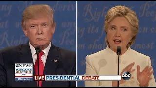 Third Presidential Debate Highlights | Clinton, Trump on 2nd Amendment, Guns