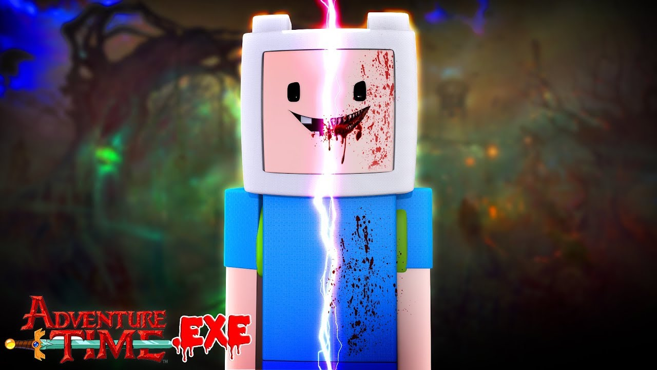 Minecraft ADVENTURE TIME.EXE - FINN.EXE HAS RISEN FROM THE DEAD TO