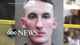 Authorities warn residents to be vigilant amid hunt for Marine murder suspect l ABC News