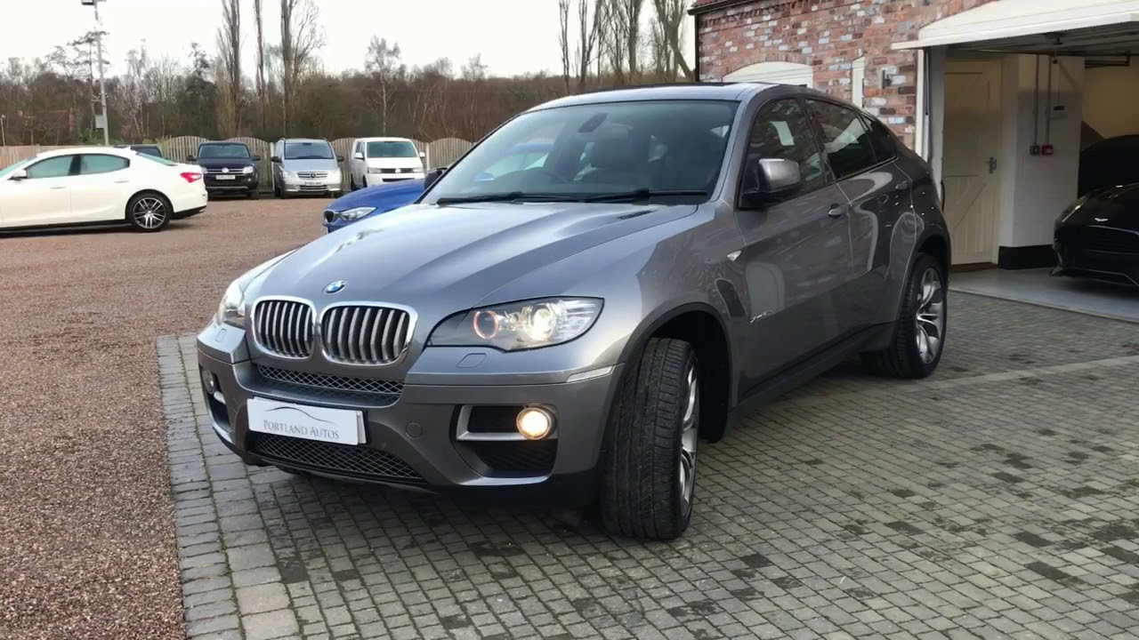 Bmw X6 Xdrive40d Space Grey For Sale 2014 Youtube
