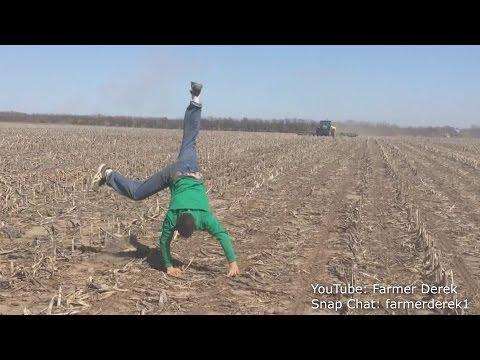 Corn Crazed Farmer Outstanding in his Fieldall night  VLOG