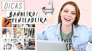 DIY :: Dicas de Organização Banheiro / Penteadeira #decor #diy #banheiro