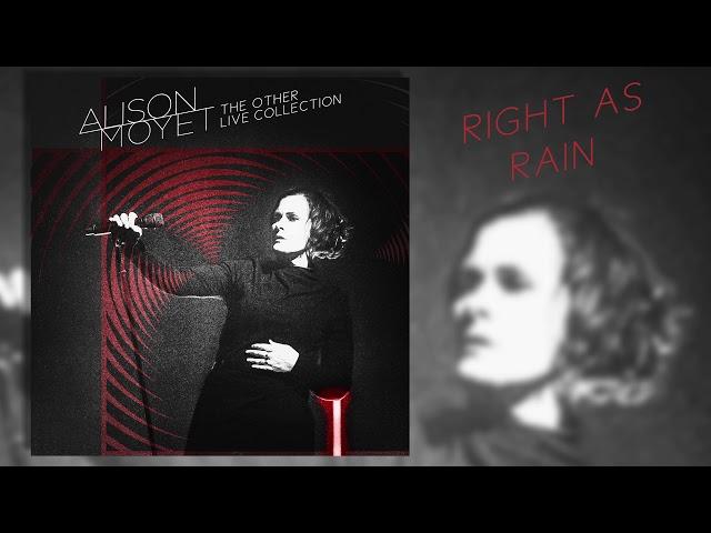 Alison Moyet - Right As Rain (Live)