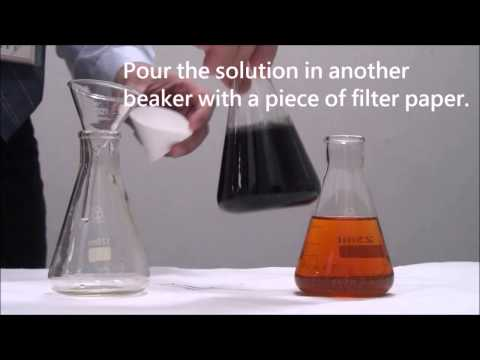 Activated Carbon - A testing of removing iodine