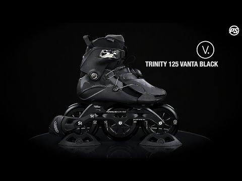 Powerslide V. Trinity 125 Vanta Black Fitness Inline Skate
