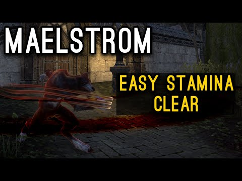 Easy Werewolf MAELSTROM ARENA clear with any class - Elder Scrolls Online