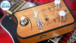Ruach Amp Juice Boost/Drive Pedal (Wooden Box!)